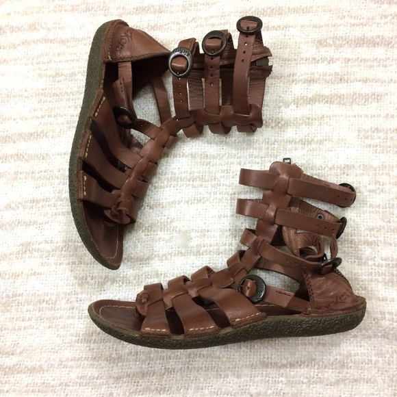 8f5f82416b5 Kickers Pepita 2 Gladiator Sandals Leather